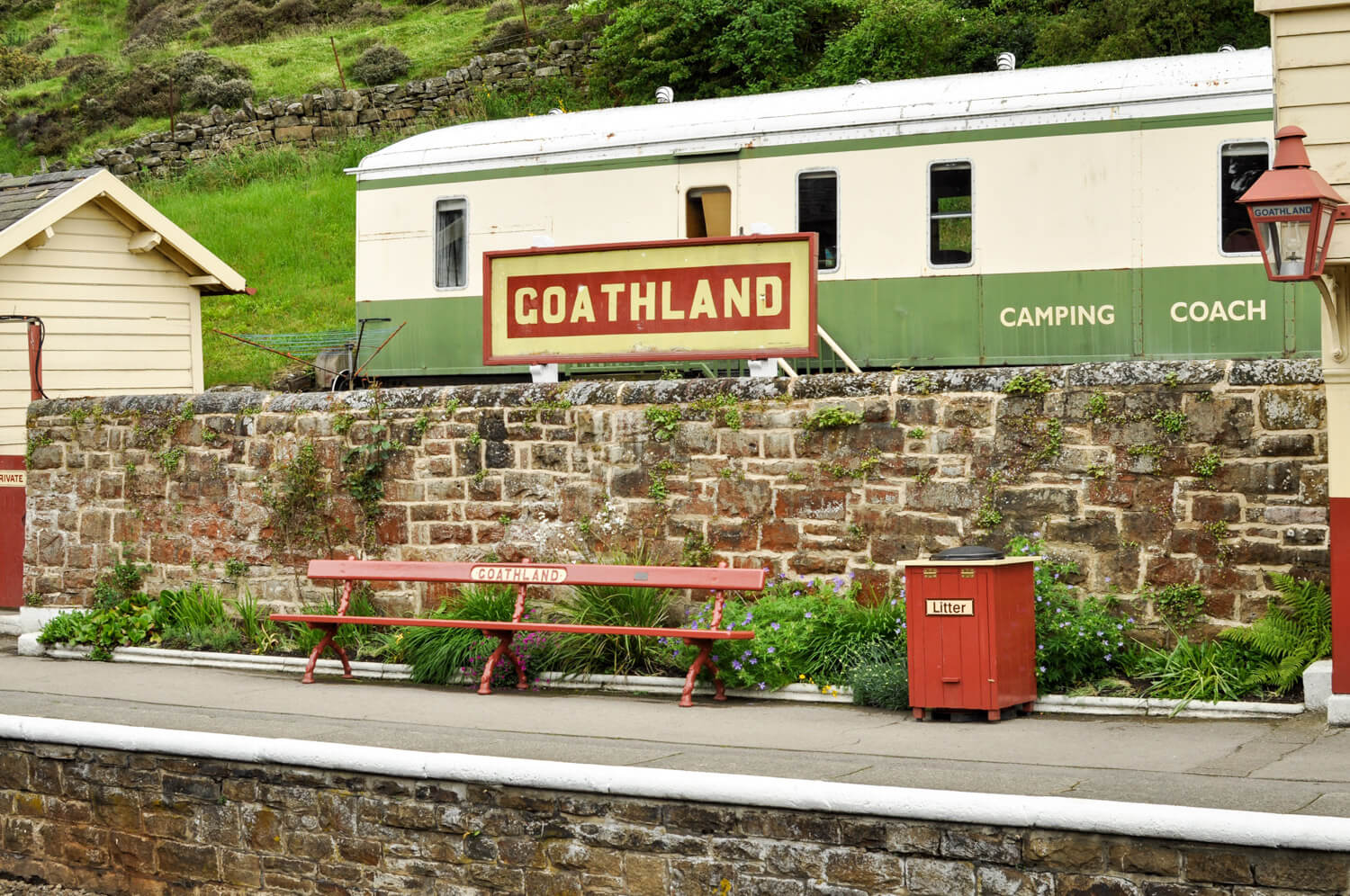 Harry Potter movie locations - Goathland - JRMI