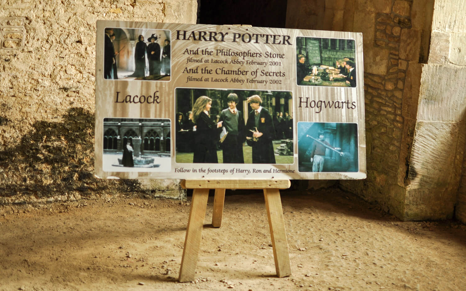 Harry Potter movie locations - Lacock - JRMI